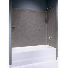 Metropolitan Three Panels Bath Tub Wall