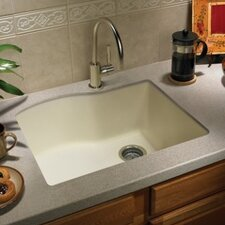 "Swanstone Classics 24"" x 21"" Single Bowl Kitchen Sink"