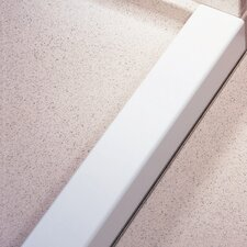 "3"" x 3"" Aluminum Removable Threshold in White"