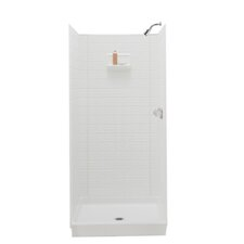 <strong>Swanstone</strong> Classics Three Panel Swantile Shower Walls