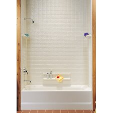 Classics Swantile Tub Wall Kit