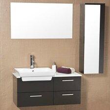 """Stella 36"""" Caro Wood Modern Bathroom Vanity Set with Single Sink"""
