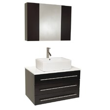 "Stella 32"" Single Modello Modern Bathroom Vanity Set"