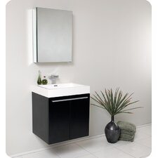 "<strong>Fresca</strong> Senza 23"" Alto Modern Bathroom Vanity Set with Medicine Cabinet"