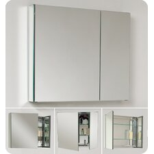 Medium Bathroom Medicine Cabinet with Mirrors