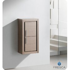 Bathroom Linen Side Cabinet with 2 Doors