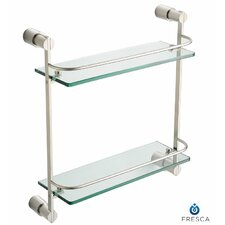 Magnifico 2 Tier Glass Shelf