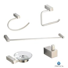 Ottimo 5 Piece Bathroom Hardware Set