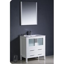 "<strong>Fresca</strong> Torino 29.9"" Modern Bathroom Vanity Set with Undermount Sink"