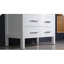 "Torino 29.9"" Modern Bathroom Vanity Set with Undermount Sink"