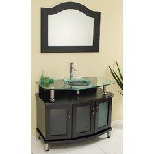 "Classico Contento 39"" Modern Bathroom Vanity Set"