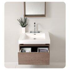 "Senza 27"" Fresca Potenza Modern Bathroom Vanity Set with Single Sink"