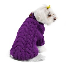 <strong>Fou Fou Dog</strong> Urban Knit Dog Sweater