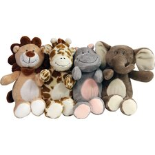 <strong>Fou Fou Dog</strong> Safari Friends Toy (Set of 4)