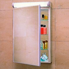 "PL Series 23.25"" x 30"" Surface Mount Flat Edge Medicine Cabinet"