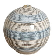 <strong>Emissary Home and Garden</strong> Ceramic Ripple Ball Vase
