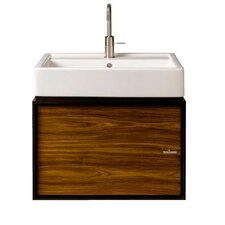 "Solutions 24"" Wall Hung Bathroom Vanity Set"