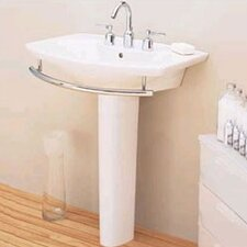 L'Expression Pedestal Bathroom Sink Set