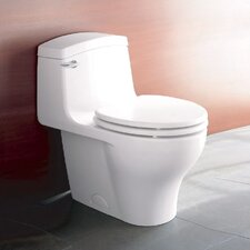 Veneto 1.6 GPF Elongated 1 Piece Toilet