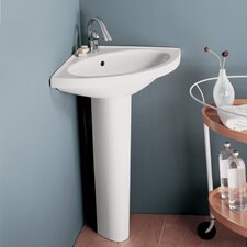 Carene Pedestal Bathroom Sink