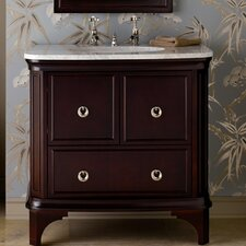 "Savina 36"" Bathroom Vanity Set with Stone Top"
