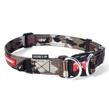 Double Camo Up Dog Collar