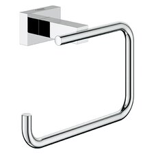 Eurocube Essentials Wall Mounted Cube Toilet Paper Holder