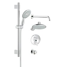 GrohFlex Thermostatic Complete Shower System