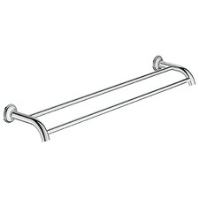 "Essentials 24"" Wall Mounted Double Towel Bar"