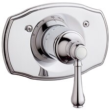 Geneva Thermostatic Trim with Lever Handle