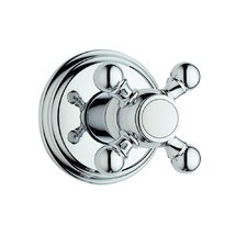 <strong>Grohe</strong> Geneva Volume Control Faucet Shower Faucet Trim Only with Cross Handle