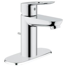 <strong>Grohe</strong> BauLoop Single Handle Centerset Bathroom Faucet with Drain Escutcheon