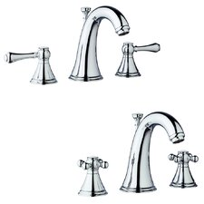 Geneva Widespread Bathroom Faucet less Handles