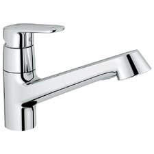 <strong>Grohe</strong> Europlus One Hanle Single Hole Pull-Out Kitchen Faucet