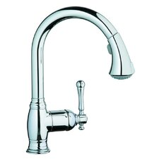 <strong>Grohe</strong> Bridgeford Single Handle Single Hole Kitchen Faucet