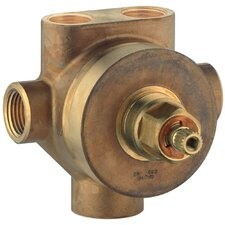 5-Port Diverter / Transfer Rough-In Valve