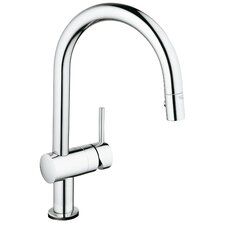 Minta Touch Single Handle Single Hole Kitchen Faucet with Touch Control