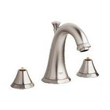 Kensington Widespread Bathroom Faucet with Double Pump Handles