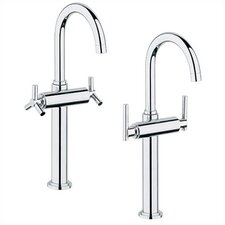 Atrio Single Hole Vessel Faucet with Double Cross Handles