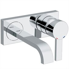 Allure Wall Mounted Bathroom Faucet with Single Handle