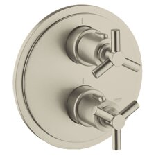 Atrio Integrated Thermostatic and Volume Control Trim