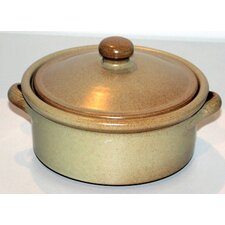 <strong>Cookware Essentials</strong> Non Stick Terracotta Pancake Dish in Cream