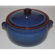 Non Stick Terracotta Pot in Blue