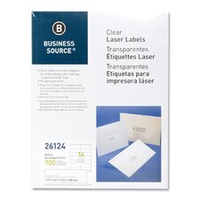 "Laser Labels, Mailing, 1-1/3""x4"", 700 per Pack, White"