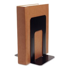 "Bookend Supports, Jumbo, 6-1/10""x9-3/10""x8-9/10"", Black"