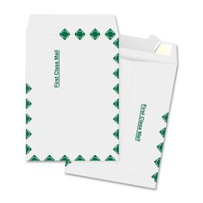"Catalog Envelopes, First Class, 12""x15-1/2"", 100 per Box, White"