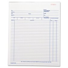<strong>Business Source</strong> 50 Sheet All-Purpose Forms Book