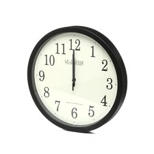 "Analog Classic Atomic 14"" Wall Clock"