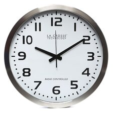 "<strong>La Crosse Technology</strong> 16"" Atomic Analog Wall Clock"