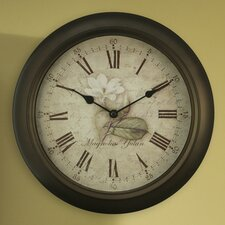 Equity Analog Clock with Antique Dial